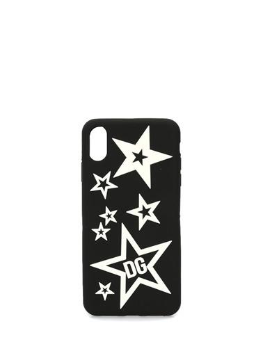 Dolce&Gabbana iPhone XS Aksesuar Siyah